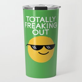 Froze Colored Glasses Travel Mug