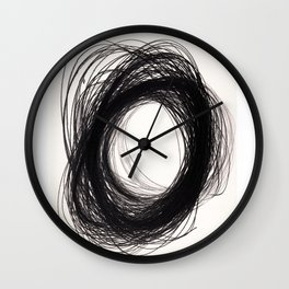 power of lines Wall Clock