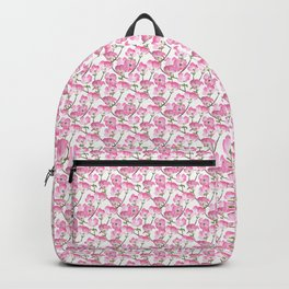Pink Dogwood Flowers Backpack