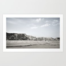 inhale andaluz #3 Art Print