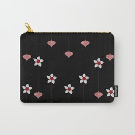 Lantern and flowers pattern Carry-All Pouch