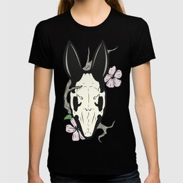 Spring bone bunny skull T-shirt