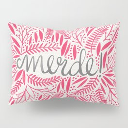 Pardon My French – Pink Pillow Sham