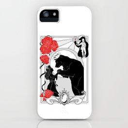 La Belle e la Bete iPhone Case