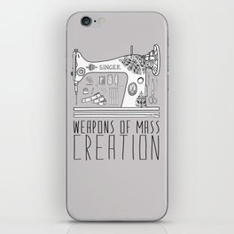 Weapons Of Mass Creation - Sewing iPhone Skin