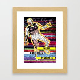 entropy Framed Art Print