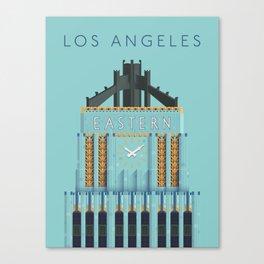 Eastern Columbia Building Los Angeles Art Deco Canvas Print