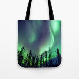 Northern Lights in Yellowknife Tote Bag