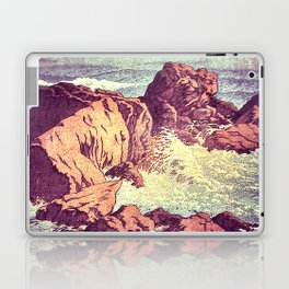 Stopping by the Shore at Uke Laptop & iPad Skin