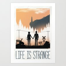 Life Is Strange Art Print