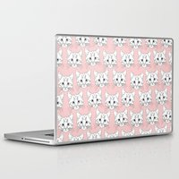 a lot of cats Laptop & iPad Skins featuring a lot of cats by galactikat