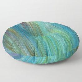 226 - Colour Abstract texture design Floor Pillow