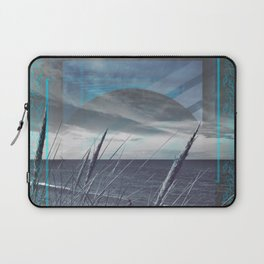 Before the Storm - blue graphic Laptop Sleeve