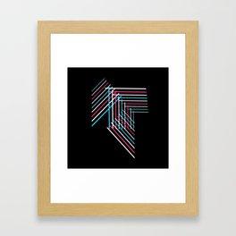 Transcend Patchwork Framed Art Print