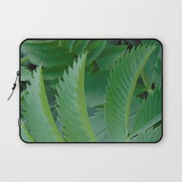 Serrated leaves Laptop Sleeve