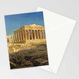 12,000pixel-500dpi - Frederic Edwin Church - The Parthenon - Digital Remastered Edition Stationery Cards