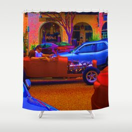 ROADSTER Shower Curtain