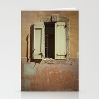 window Stationery Cards featuring Window by Maria Heyens