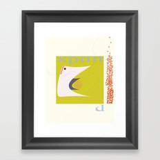 expanding requires contracting Framed Art Print