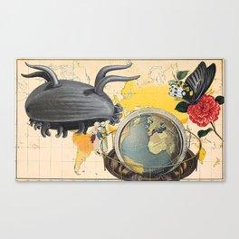 Pulmonata Around the World Canvas Print