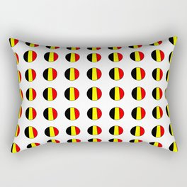 Flag of belgium 7 belgian,belge,belgique,bruxelles,Tintin,Simenon,Europe,Charleroi,Anvers,Maeterlinc Rectangular Pillow