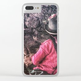 Only life Clear iPhone Case