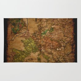 Map of Europe 1740 Rug