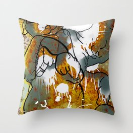 Dreams about milk  Throw Pillow