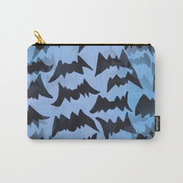 Batty Abstract Pattern Carry-All Pouch