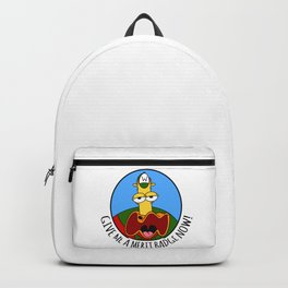 Give Me A Merit Badge Now! Backpack