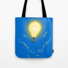 Let the light lead the way Tote Bag