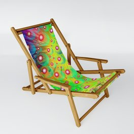 A Crash of Colors, fantasy art Sling Chair