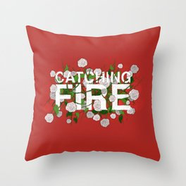 CF Flowers Throw Pillow