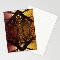 Quad tree #2 Stationery Cards