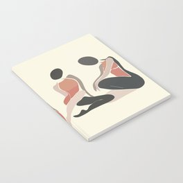 Woman Forms Notebook