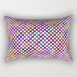 Gitter Hell Rectangular Pillow