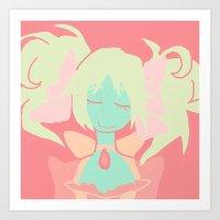 madoka magica Art Prints featuring Madoka Magica by Serene World