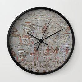 Egyptian Tablet Wall Clock