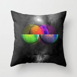 Venn Diameter Throw Pillow