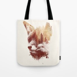 Blind fox Tote Bag