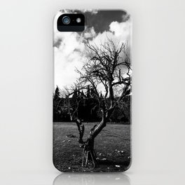 Dried Tree Photography iPhone Case