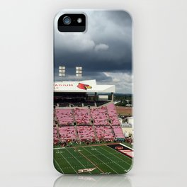 Storm at UofL Game iPhone Case
