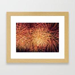 Art of the Fireworks Framed Art Print