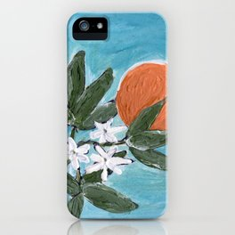ojai orange iPhone Case