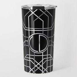 Silver Deco Travel Mug