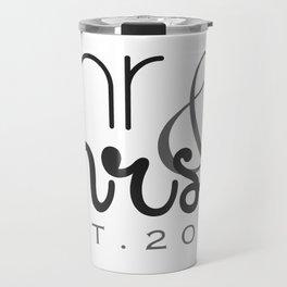 Mr. & Mrs. Typography - EST. 2015 Travel Mug
