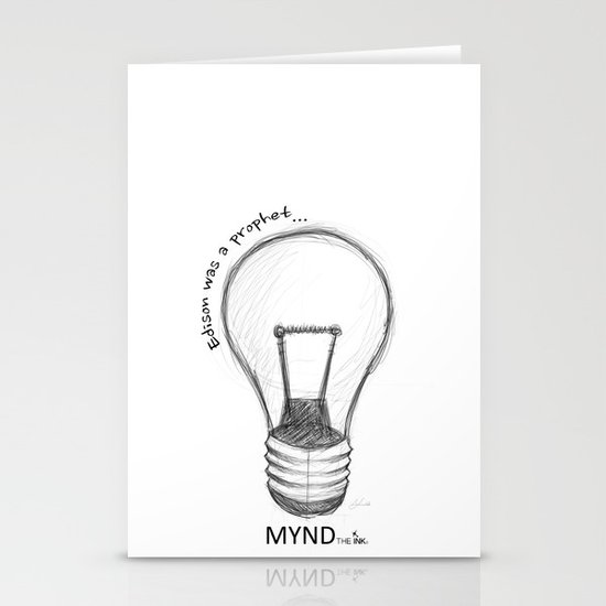 The Lord works in mysterious ways Stationery Cards
