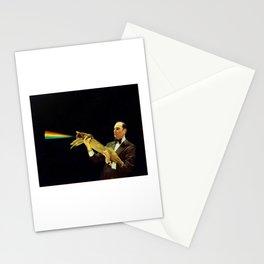 Laser Cat Stationery Cards