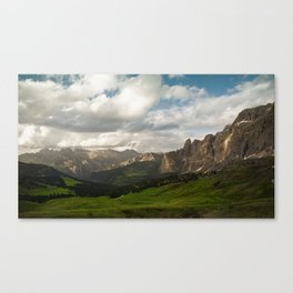 Sella Pass Canvas Print