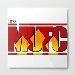 MUFC Metal Print